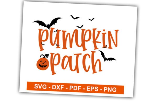 Print on Demand: Pumpkin Patch Graphic Crafts By svgbundle.net