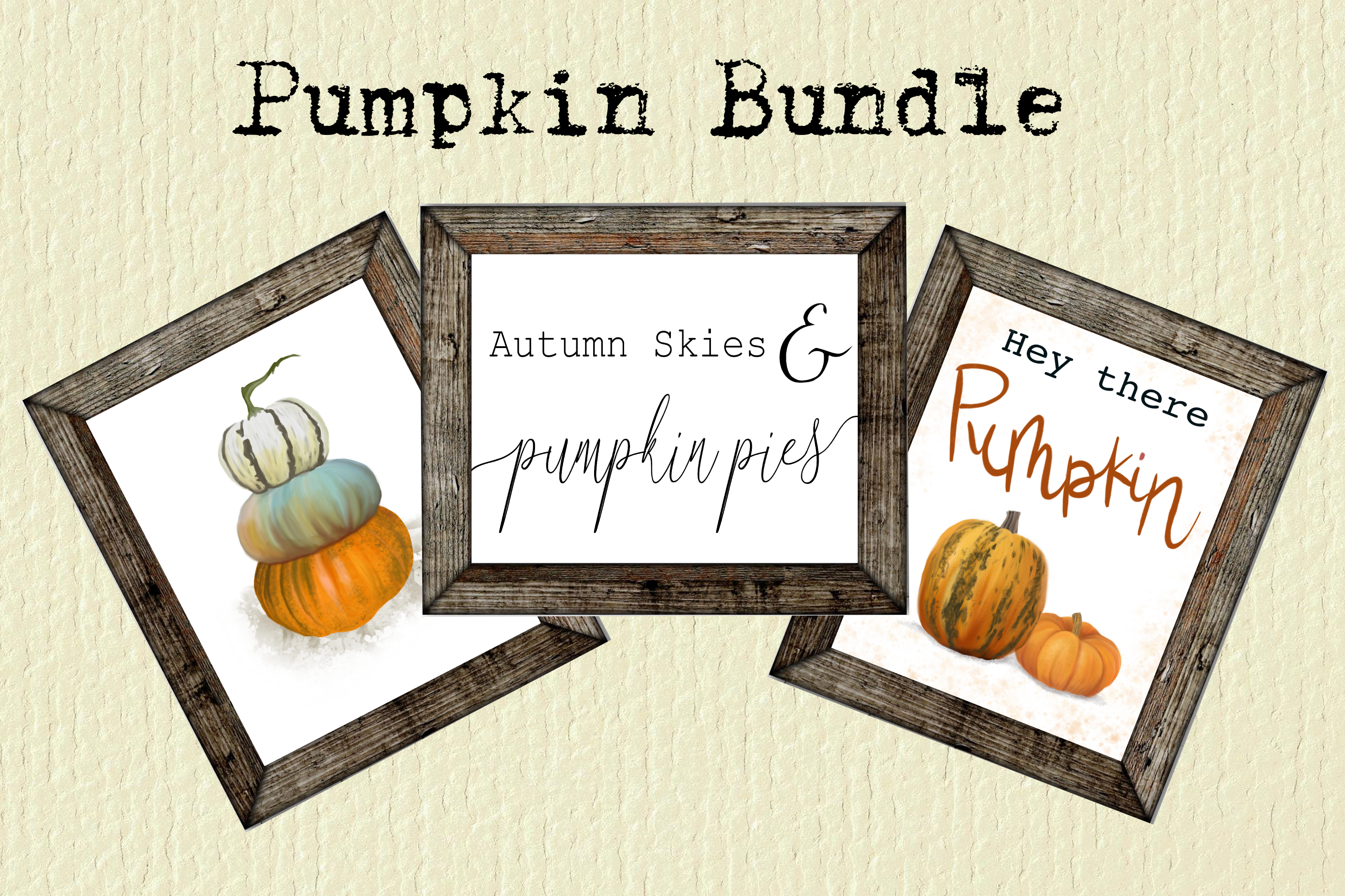 Download Free Pumpkin Print Bundle Graphic By Ashley Lynne18 Creative Fabrica for Cricut Explore, Silhouette and other cutting machines.