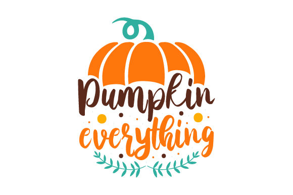 Pumpkin Everything Craft Design By Creative Fabrica Crafts Image 1