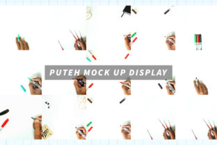 Puteh Display Mock Up Graphic By Typehand Studio