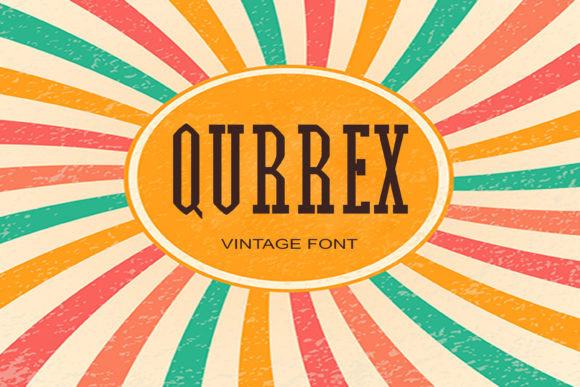 Print on Demand: Qurrex Serif Font By maxim.90.ivanov