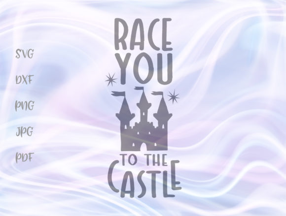 Race You To The Castle Graphic By Digitals By Hanna Creative Fabrica