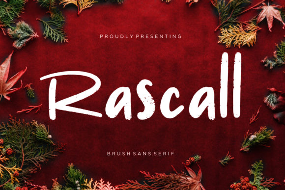 Print on Demand: Rascall Display Font By CreatypeStudio