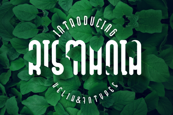 Print on Demand: Rismania Display Font By Kelik - 7NTypes