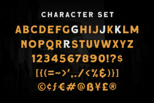 Print on Demand: Roquen Display Font By letterhend 5