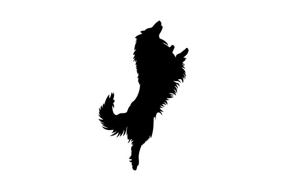 Rough Collie Jumping - Realistic Dogs Craft Cut File By Creative Fabrica Crafts - Image 2