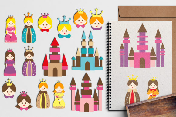 Print on Demand: Royal Family Graphic Illustrations By Revidevi - Image 1