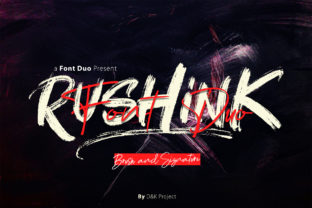 Rushink Duo Font By DK Project