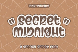 Secret Midnight Display Font By Subectype