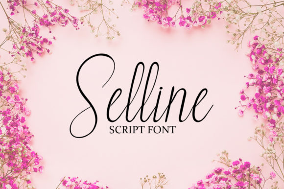 Print on Demand: Selline Script & Handwritten Font By Boombage - Image 1