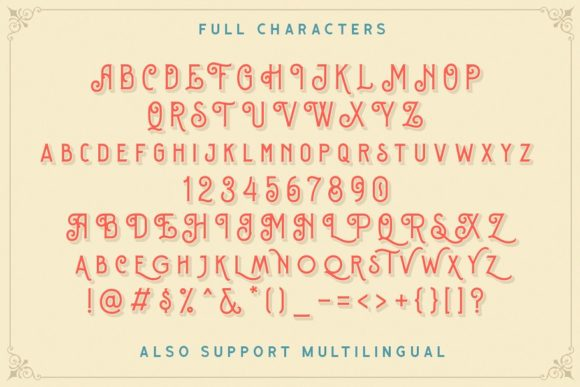 Print on Demand: Sequents Display Font By letterhend - Image 3
