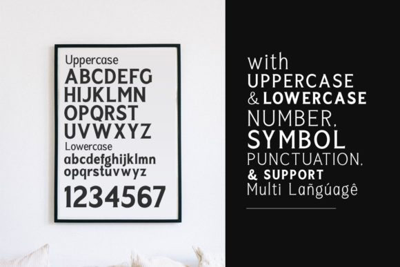 Print on Demand: Seriously Display Font By letterhend - Image 7