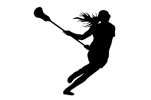 Download Free Silhouette Of Womens Lacrosse Player Svg Cut File By Creative for Cricut Explore, Silhouette and other cutting machines.