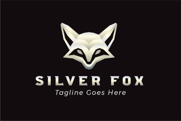 Download Free Silver Fox Logo Template Graphic By Studioaneukmuda Creative for Cricut Explore, Silhouette and other cutting machines.