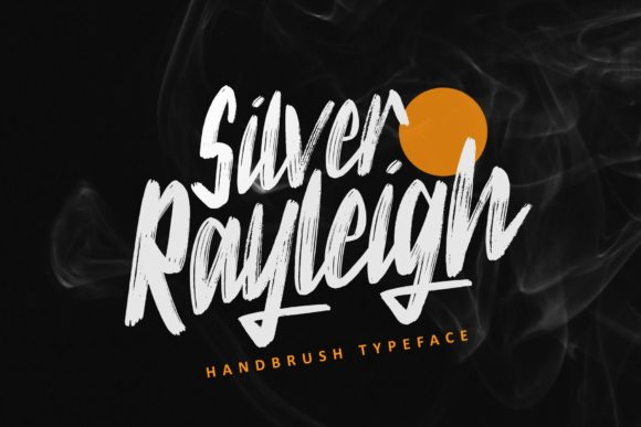 Print on Demand: Silver Rayleigh Script & Handwritten Font By ZHR Creative - Image 1