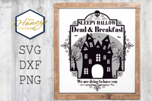 Sleepy Hallow Dead and Breakfast SVG Graphic By The Honey Company