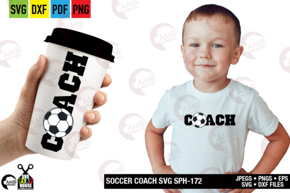 Download Free Soccer Coach Graphic By Ambillustrations Creative Fabrica SVG Cut Files