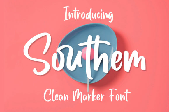 Print on Demand: Southem Script & Handwritten Font By Bangkit Setiadi