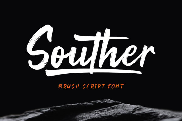 Print on Demand: Souther Script & Handwritten Font By craftsupplyco