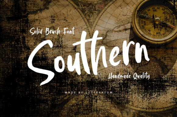Print on Demand: Southern Display Font By Letteratom