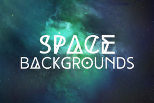 Space Backgrounds Vol.1 Graphic By freezerondigital