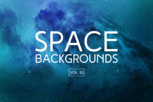 Space Backgrounds Vol.10 Graphic By freezerondigital