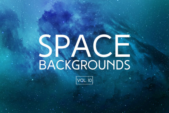 Print on Demand: Space Backgrounds Vol.10 Graphic Backgrounds By freezerondigital