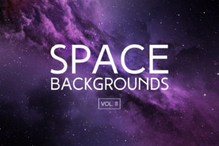 Space Backgrounds Vol.11 Graphic By freezerondigital
