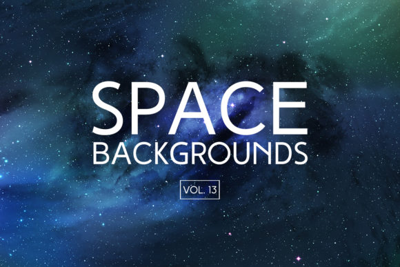Print on Demand: Space Backgrounds Vol.13 Graphic Backgrounds By freezerondigital