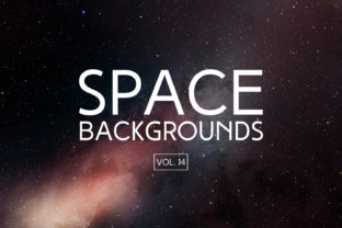 Space Backgrounds Vol.14 Graphic By freezerondigital