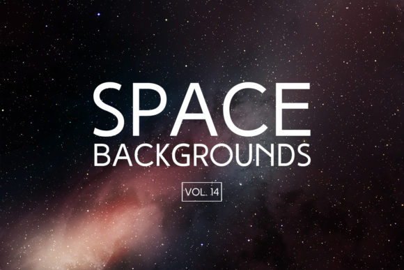 Print on Demand: Space Backgrounds Vol.14 Graphic Backgrounds By freezerondigital
