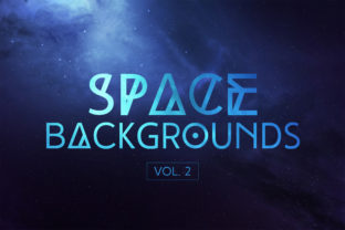 Space Backgrounds Vol.2 Graphic By freezerondigital