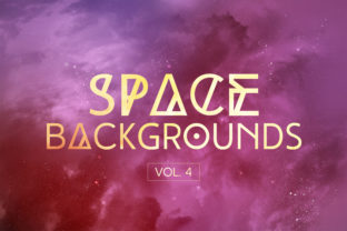 Space Backgrounds Vol.4 Graphic By freezerondigital