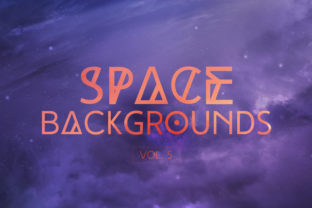 Space Backgrounds Vol.5 Graphic By freezerondigital