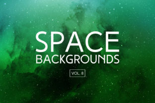 Space Backgrounds Vol.8 Graphic By freezerondigital