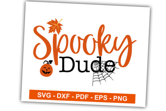 Print on Demand: Spooky Dude Graphic Crafts By svgbundle.net