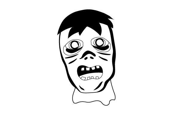 Download Free Spooky Zombie Svg Cut File By Creative Fabrica Crafts Creative for Cricut Explore, Silhouette and other cutting machines.