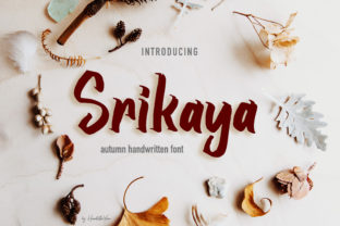 Srikaya Display Font By yean.aguste