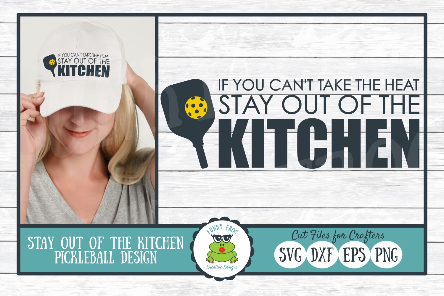 Download Free Stay Out Of The Kitchen Graphic By Funkyfrogcreativedesigns for Cricut Explore, Silhouette and other cutting machines.
