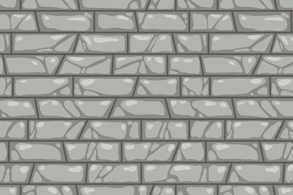 Download Free Stone Brick Wall Seamless Pattern Graphic By Superzizie for Cricut Explore, Silhouette and other cutting machines.