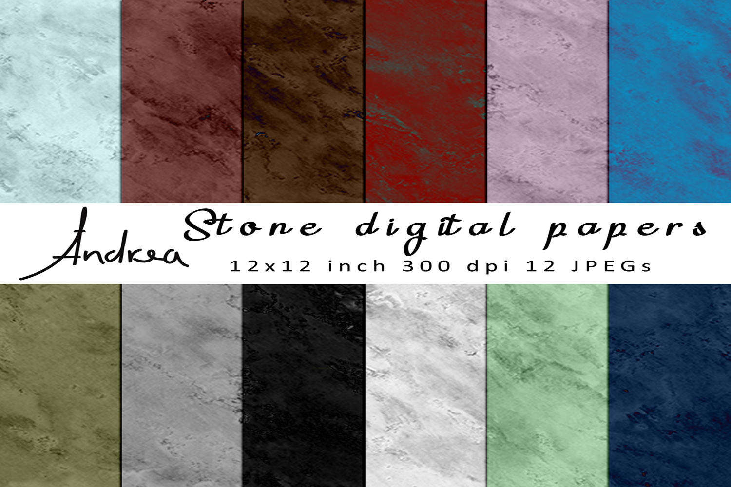 Download Free Stone Digital Papers Graphic By Andrea Kostelic Creative Fabrica for Cricut Explore, Silhouette and other cutting machines.