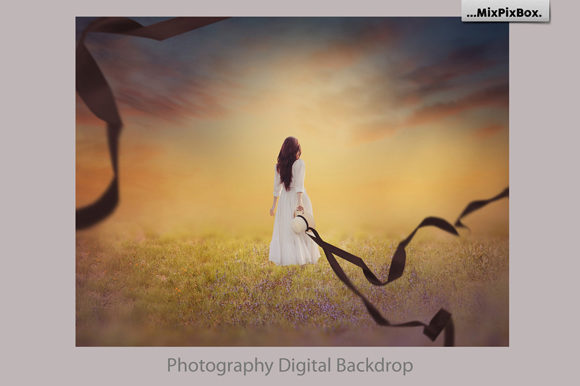 Print on Demand: Summer Backdrops Graphic Layer Styles By MixPixBox - Image 5