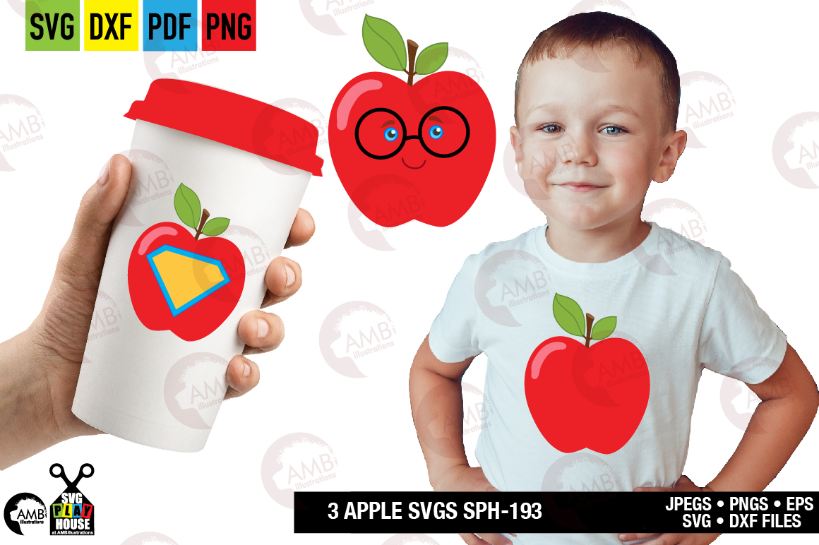 Download Free Super Teacher Apple Graphic By Ambillustrations Creative Fabrica for Cricut Explore, Silhouette and other cutting machines.