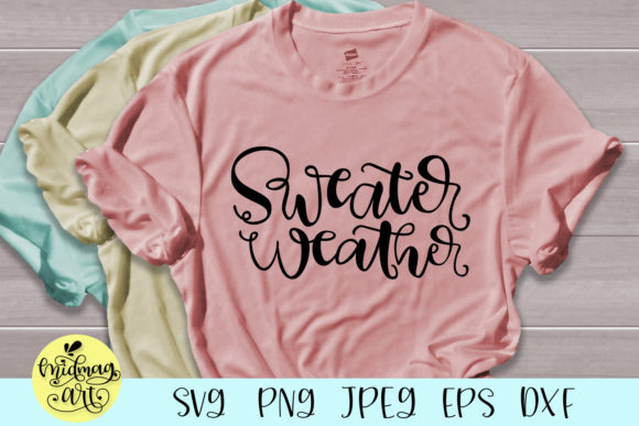 Download Free Sweater Weather Svg Graphic By Midmagart Creative Fabrica for Cricut Explore, Silhouette and other cutting machines.