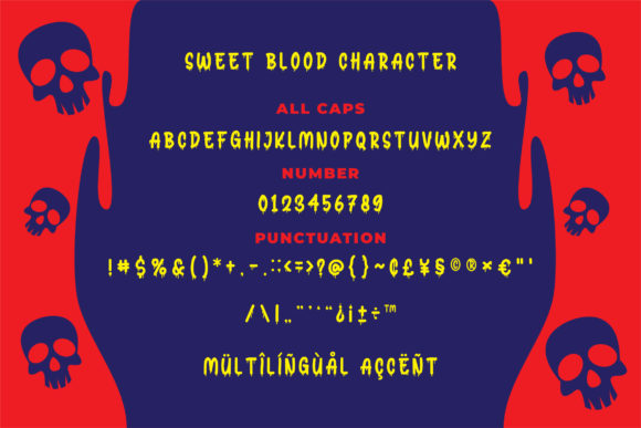 Sweet Blood Font By Bangkit Setiadi Image 3
