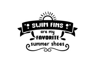 Swim Fins Are My Favorite Summer Shoes Craft Design By Creative Fabrica Crafts