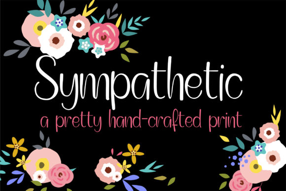 Print on Demand: Sympathetic Manuscrita Fuente Por Illustration Ink