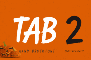Tab 2 Font By Situjuh