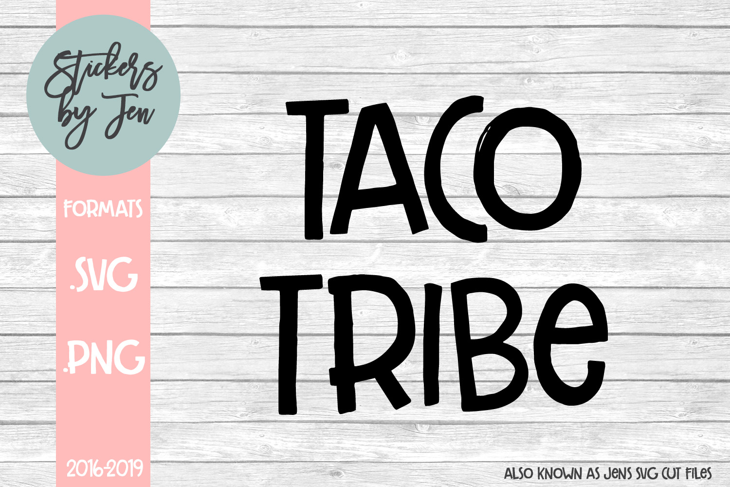 Download Free Taco Tribe Graphic By Stickers By Jennifer Creative Fabrica for Cricut Explore, Silhouette and other cutting machines.