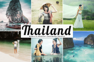 Thailand Pro Lightroom Presets Graphic By Creative Tacos